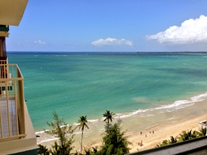 the view in Puerto Rico