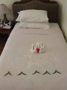 towel pets in Bagan