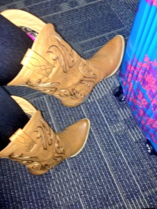 boots from Twitter admirer